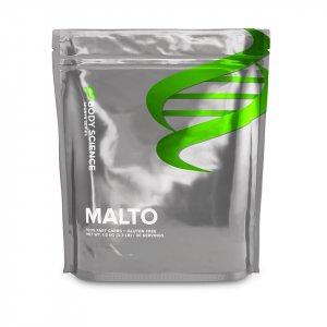 En påse Maltodextrin från Body Science