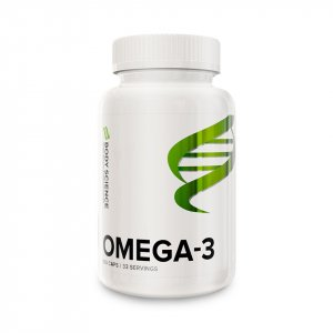 En burk Omega-3 från Body Science