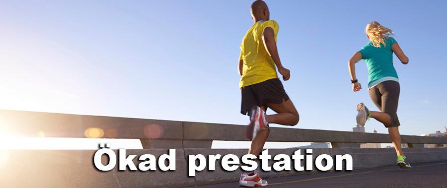 Syreupptagningsförmåga och återhämtning ökar prestationen
