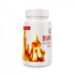 En burk XLNT Sports Burn fettförbrännare