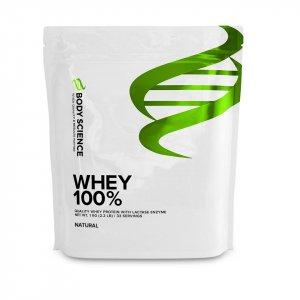 Whey Vassleprotein kosttillskott Whey 100% från Body Science