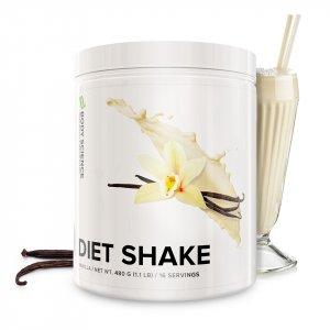 En burk Diet Shake måltidsersättare från Body Science