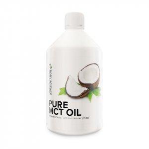 En flaska MCT-olja från Body Science