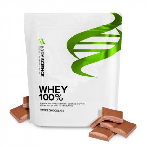 Valleprotein kosttilskud Whey 100 % fra Body Science