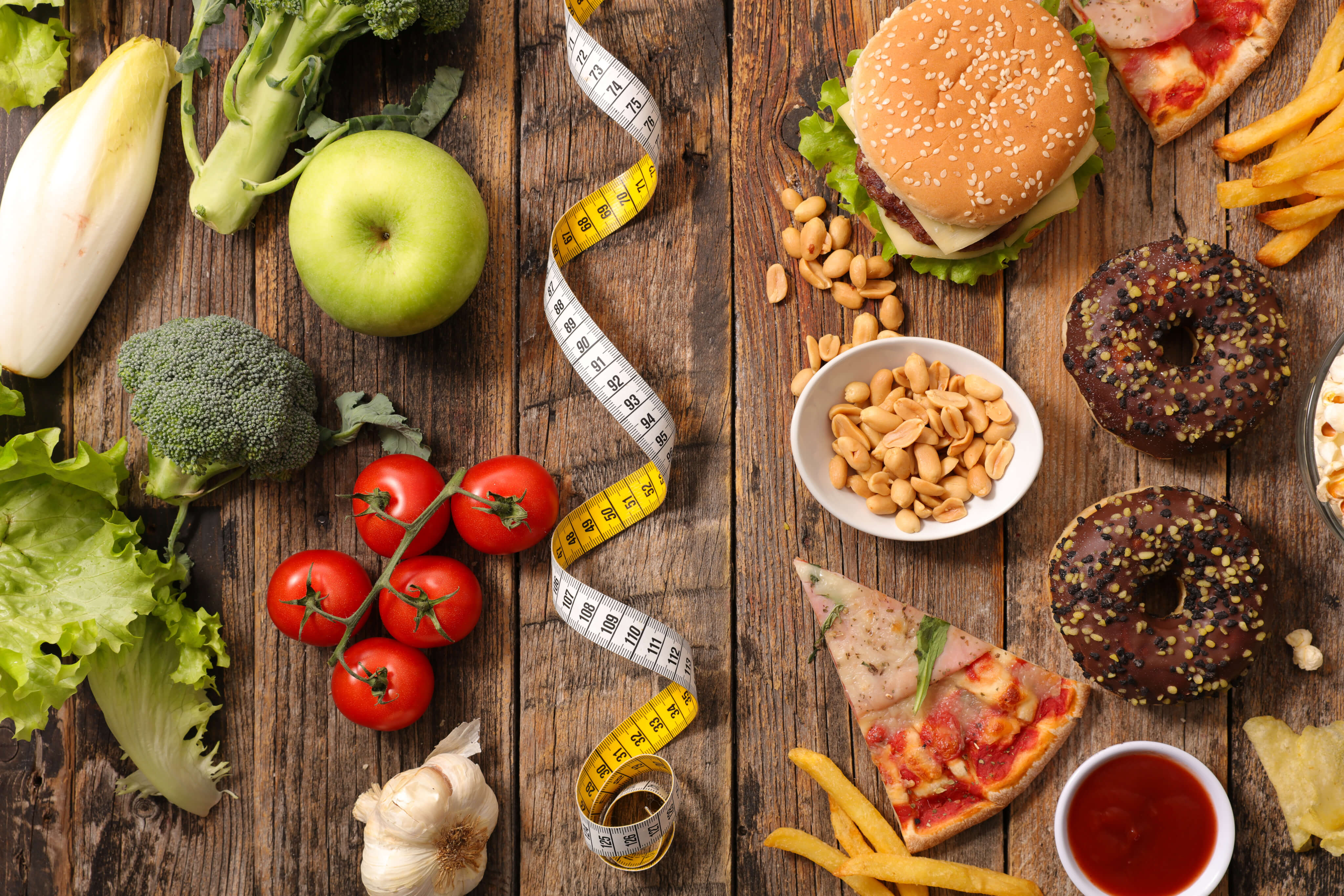 Nyttig mat och snabbmat