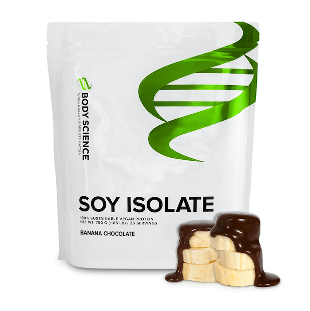 Body Science Soy Isolate Banana Chocolate - Sojaisolat