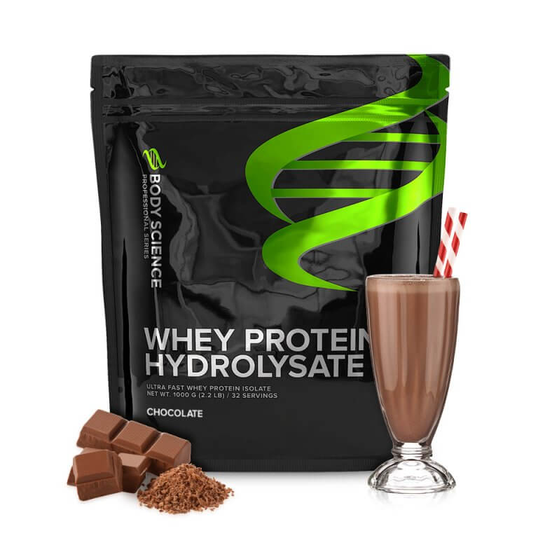 Body Science Whey Hydrolysate Chocolate - Proteinpulver hydrolysat