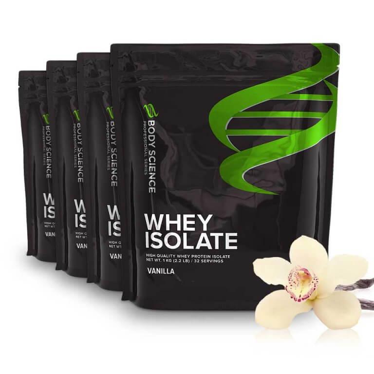Body Science Whey Isolate Vanilla - Proteinpulver
