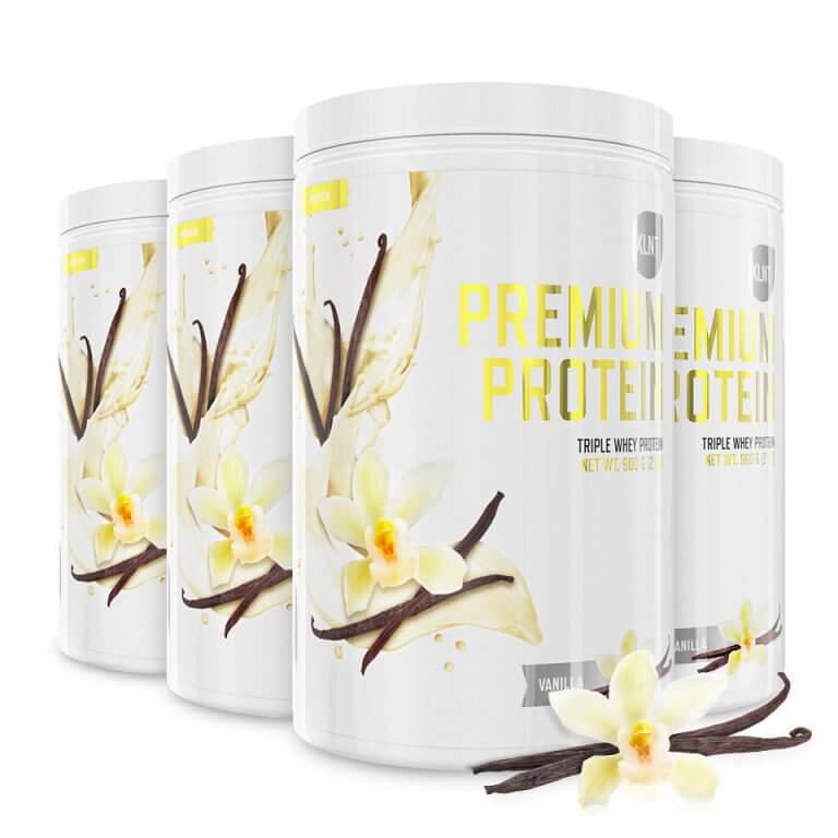 XLNT Sports Premium Protein Vanilla - Proteinpulver
