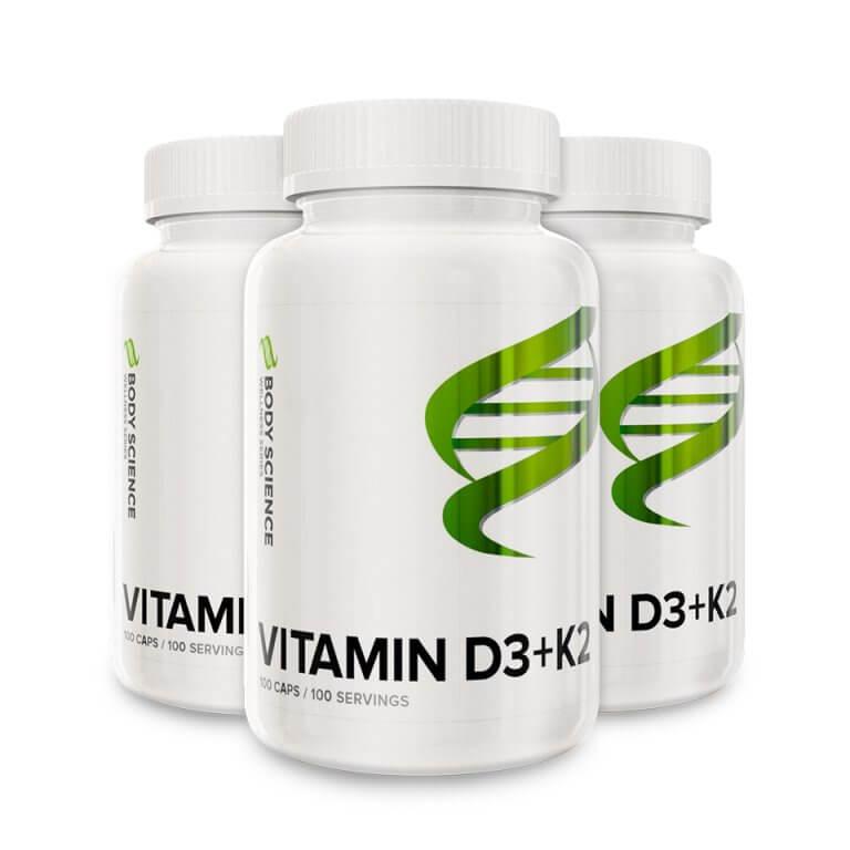 Body Science Vitamin D3 + K2