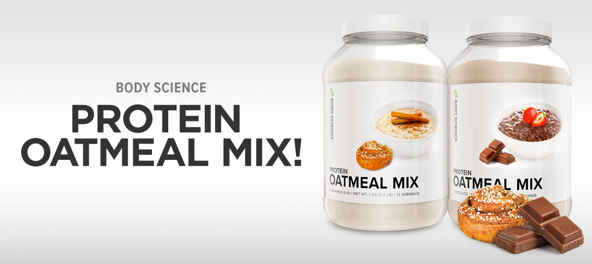 Body Science Protein Oatmeal Mix Grötmix