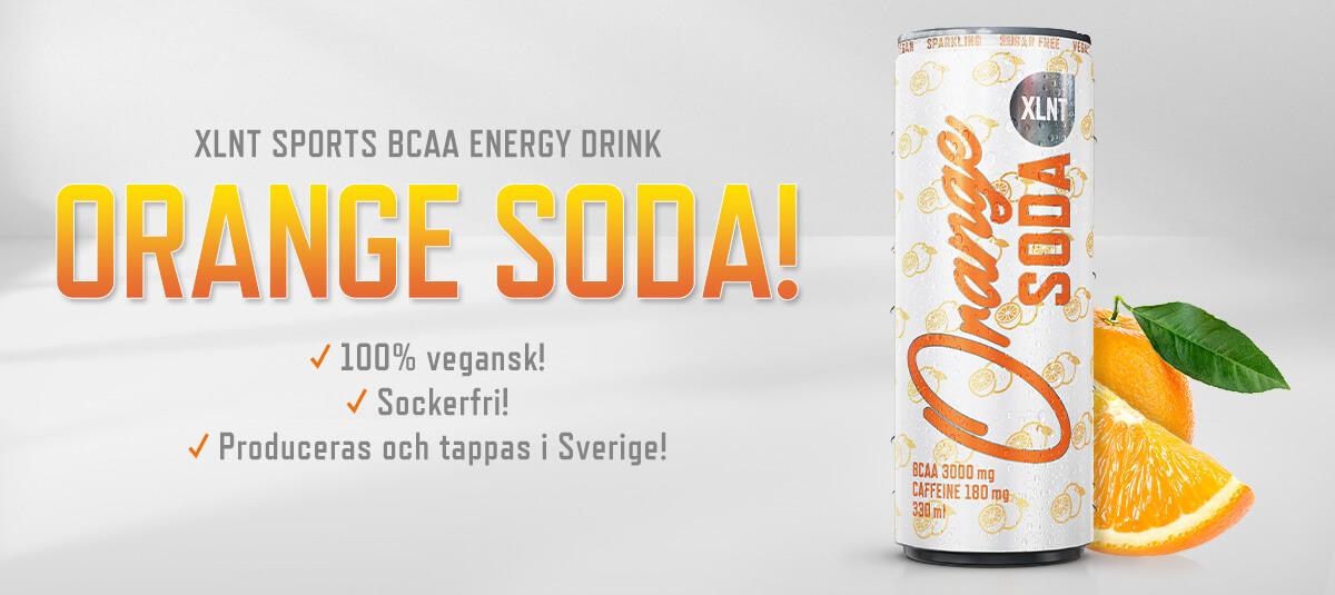XLNT Sports BCAA Orange Soda