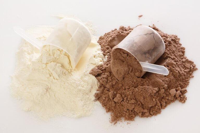 Olika typer av proteinpulver