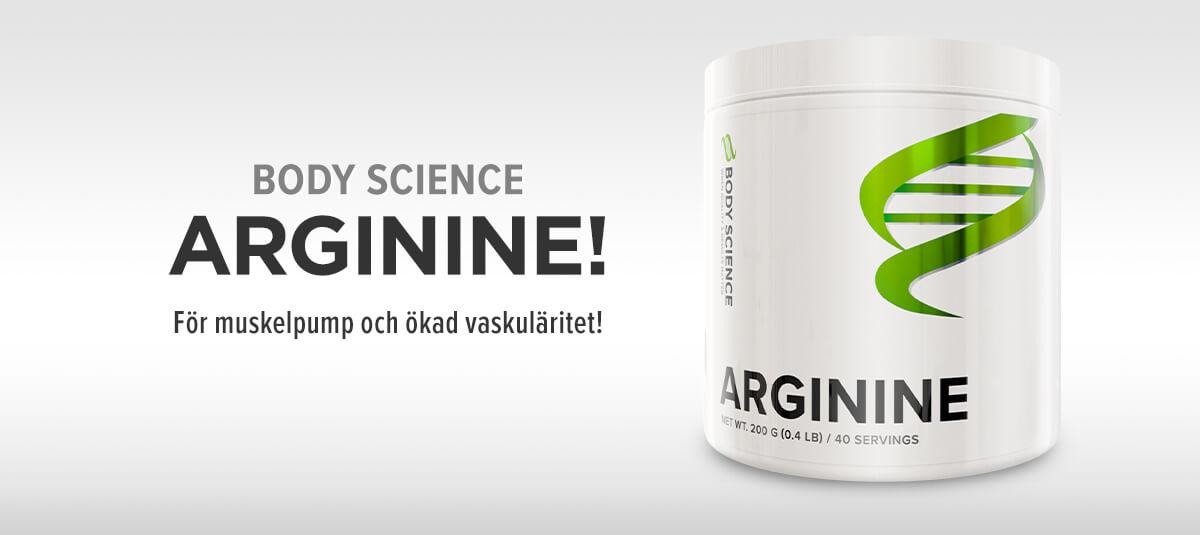 Till Body Science Arginine - Kosttillskott med rent arginin